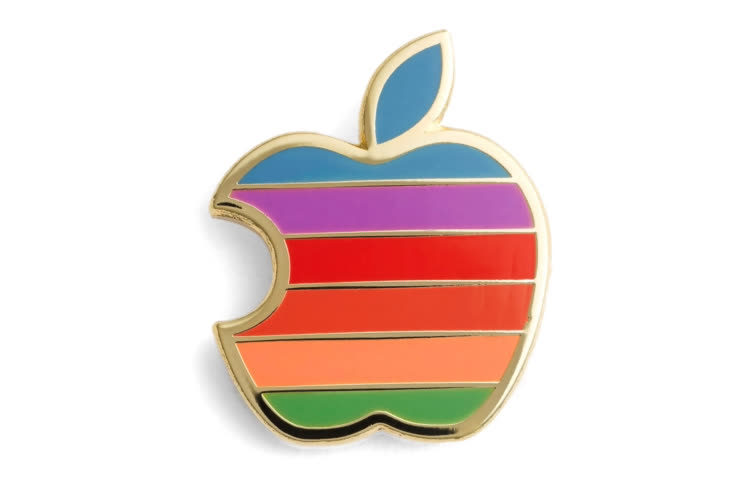 Piquer le logo Apple, c'est mal!