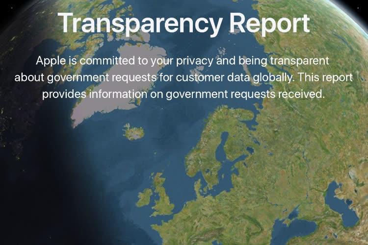Rapport sur la transparence : baisse des requêtes des autorités au premier semestre 2020