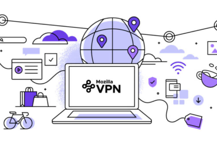 Le Mozilla VPN est disponible en France
