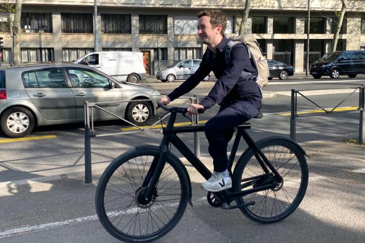 Test du vélo VanMoofS3 et de sa fonction Localiser d'Apple