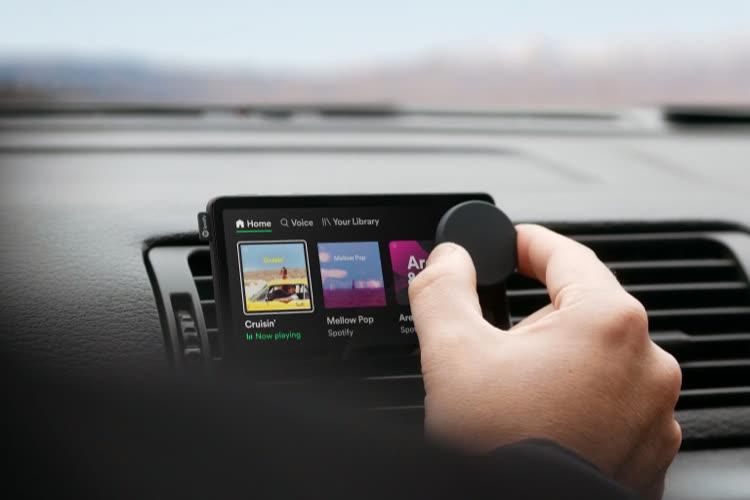 Car Thing: Spotify fait tester son autoradio à certains abonnés aux États-Unis