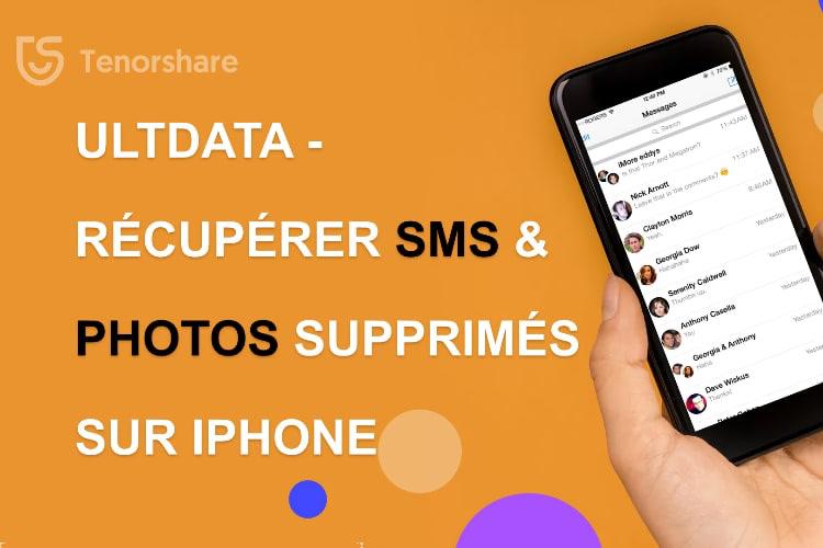 Tenorshare UltData : le logiciel de récupération de données pour iPhone n°1  📌