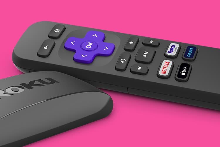 Un bouton AppleTV+ sur la nouvelle télécommande Roku