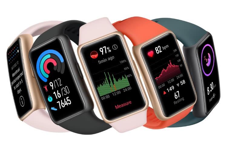 Huawei donne à son Band 6 un petit air de montre connectée