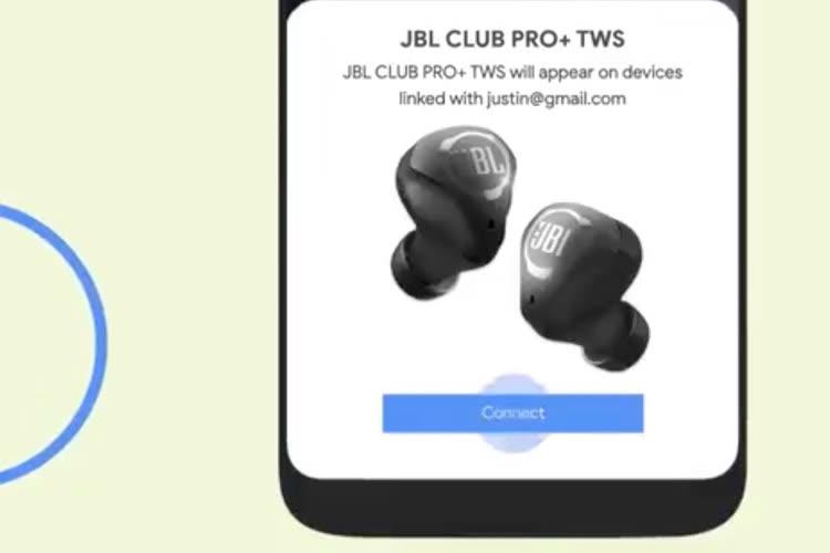 Une interface assez iOS pour le nouveau Fast Pair d'Android
