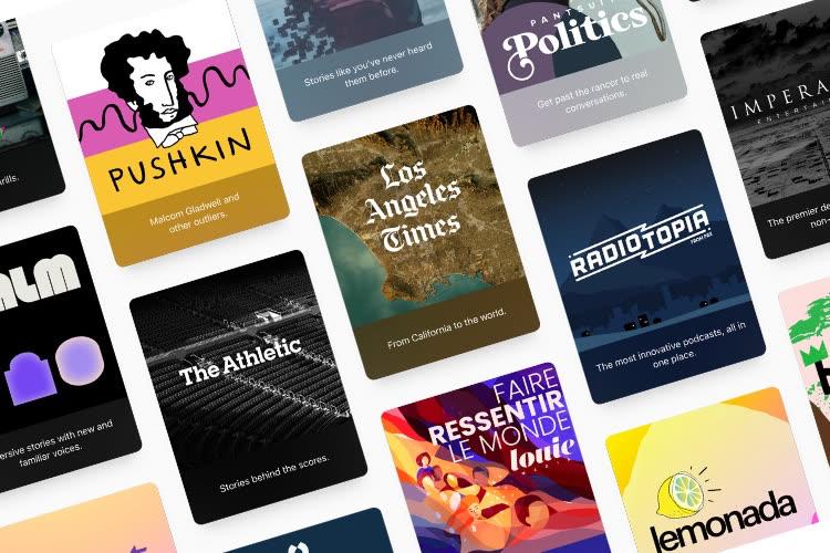 Abonnements Apple Podcasts : un modèle très proche des abonnements AppStore, commission de 30% y compris