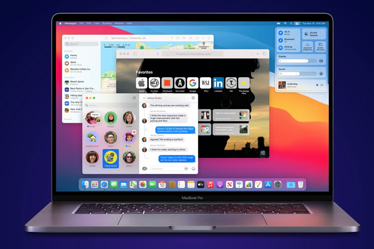 Apple distribue la bêta 7 de macOS 11.3
