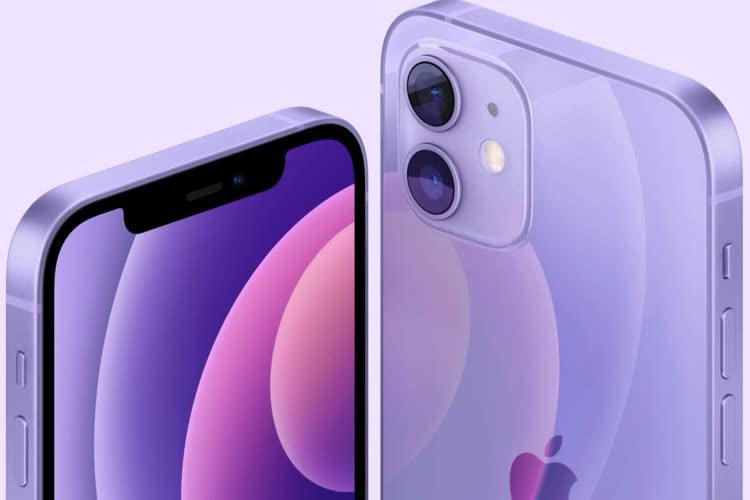 iPhone 12 mauve : précommandes et réductions de 60€
