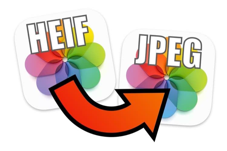 De l'HEIF au JPEG en un seul clic-droit