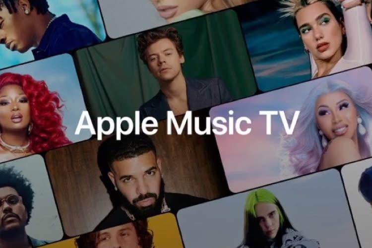 La chaîne AppleMusic TV maintenant diffusée au Royaume-Uni et au Canada