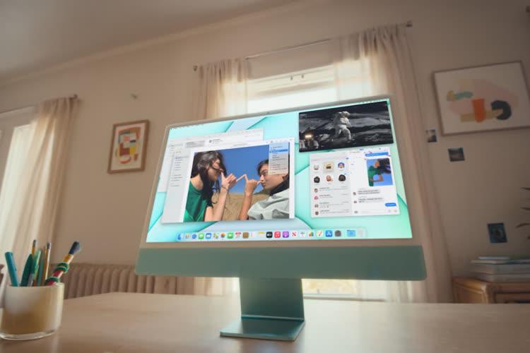 Le nouvel iMac coloré de 24 pouces a la puissance de la puce M1