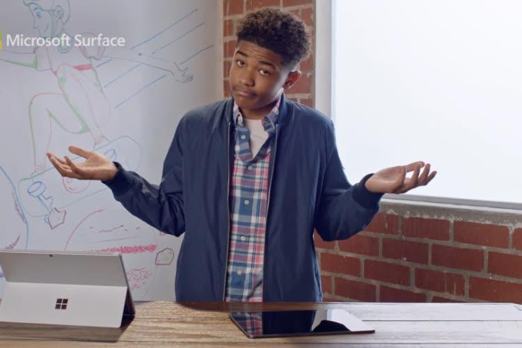 video en galerie : La Surface Pro se compare favorablement à l'iPadPro, selon Microsoft