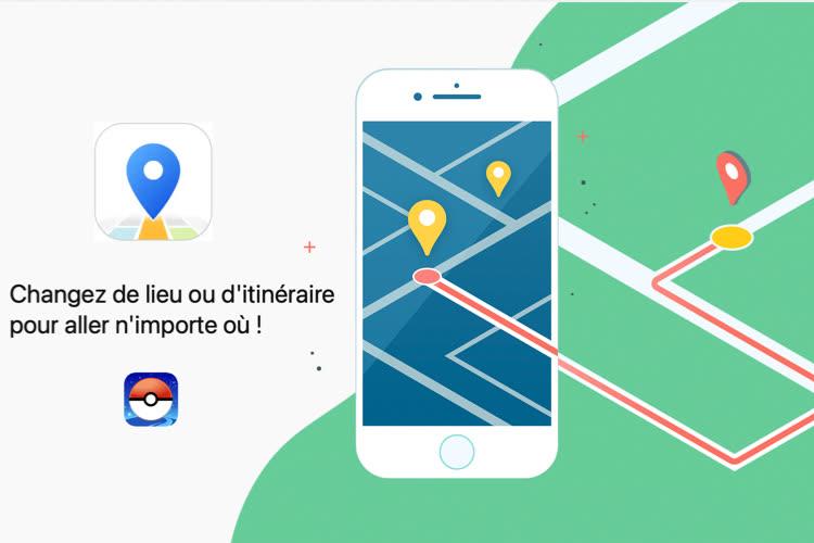 iToolab AnyGo : changez la localisation GPS de votre iPhone, sans jailbreak  📌
