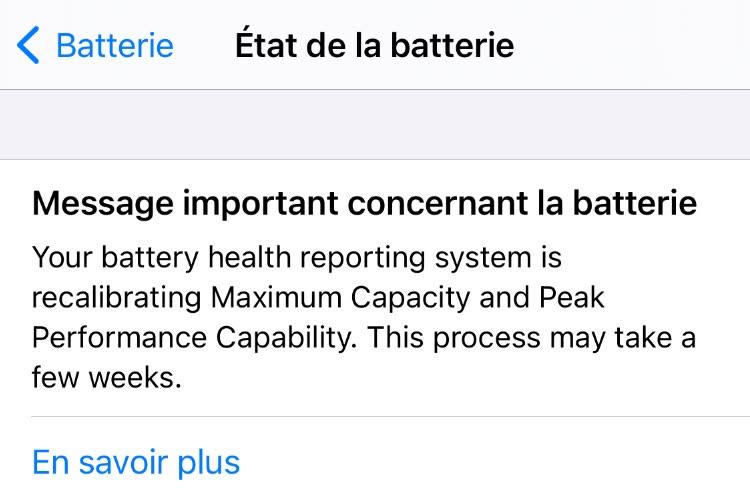 iPhone 11 : l'outil de réétalonnage de la batterie d'iOS 14.5 donne ses premiers résultats