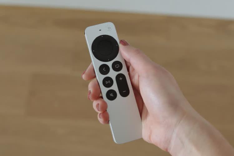 Nouvelle AppleTV 4K avec une meilleure télécommande