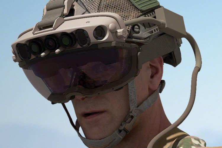 Microsoft va produire des casques HoloLens pour l'armée US