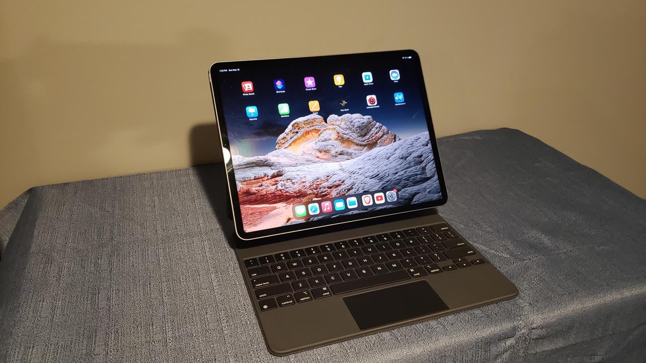"Un iPadPro 12,9"" M1 aperçu dans la nature"