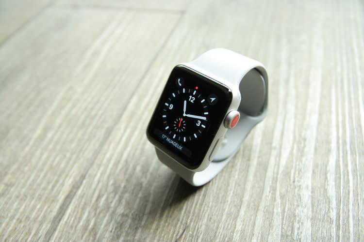 L'AppleWatchSeries3 a du mal avec les grosses mises à jour de watchOS7