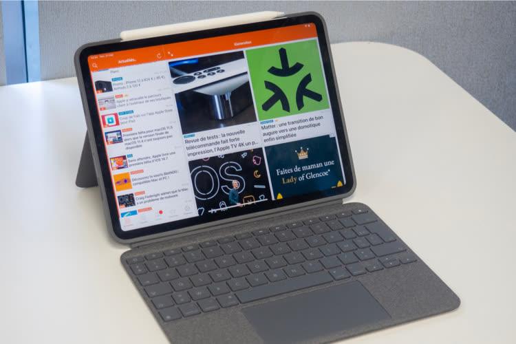 Test du Logitech Combo Touch pour iPadPro: un combo gagnant