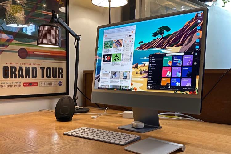 """Test de l'iMac 24"""" M1 : l'ordinateur personnel remis à plat"""