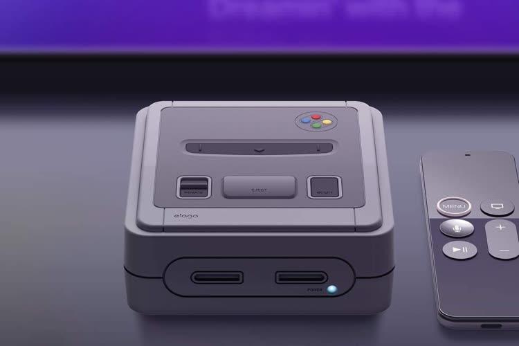 Elago met enfin en vente sa coque AppleTV inspirée de la Super NES
