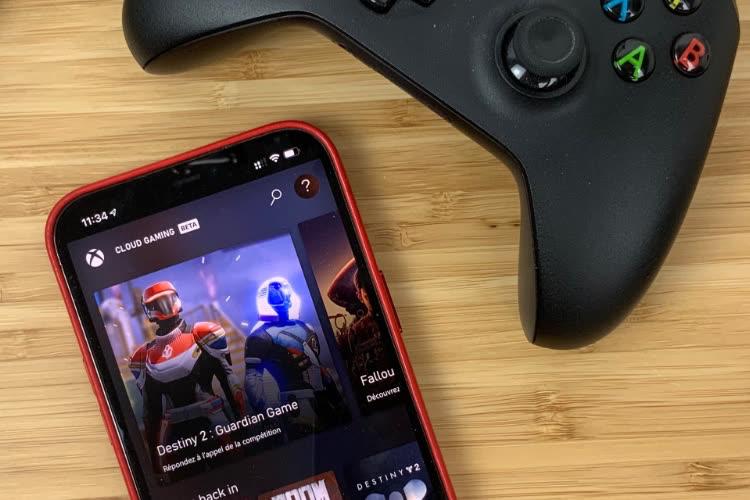 Aperçu du Xbox Cloud Gaming sur iOS et macOS
