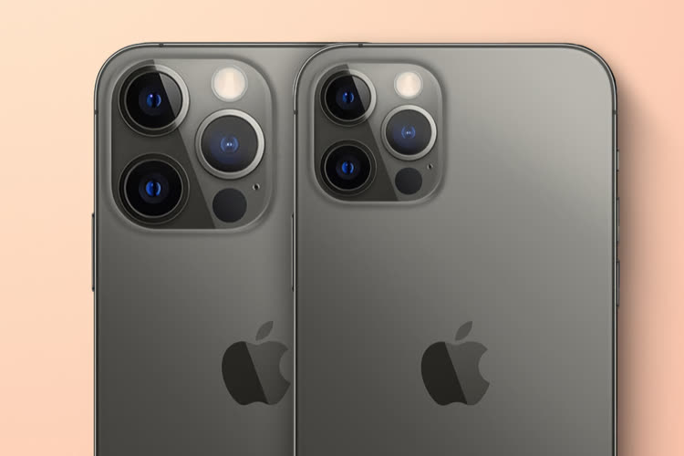 Rumeur: le bloc photo des iPhone13 serait plus gros et plus épais
