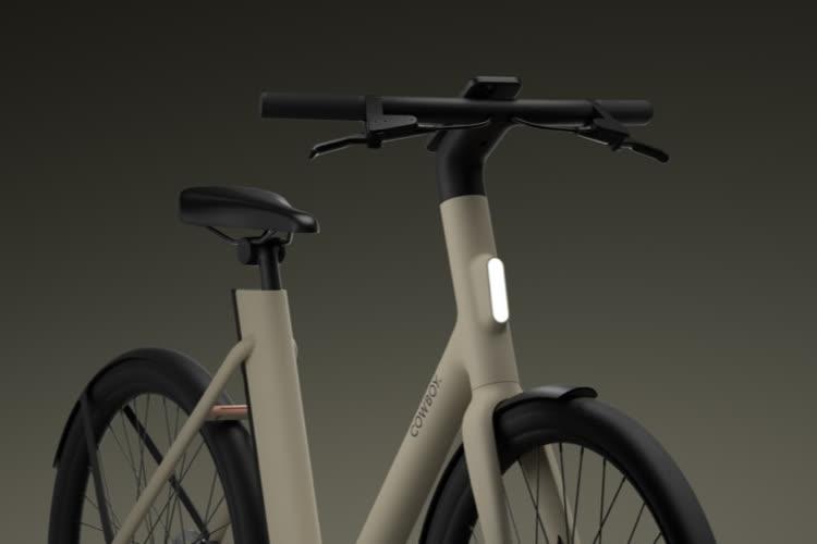CowboyC4: nouvelle version du vélo électrique connecté avec un cadre ouvert