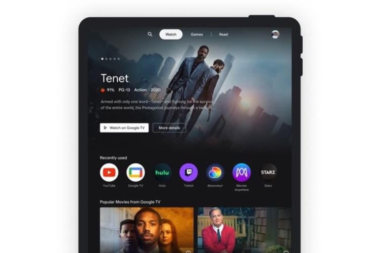 Google lance un «espace divertissement» pour les tablettes Android