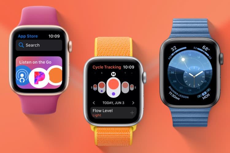 Apple livre watchOS 7.4.1 pour tout le monde