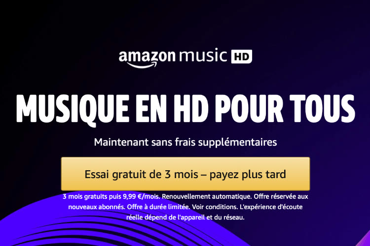 Amazon Music HD : le Lossless et le Dolby Atmos au prix de l'abonnement standard