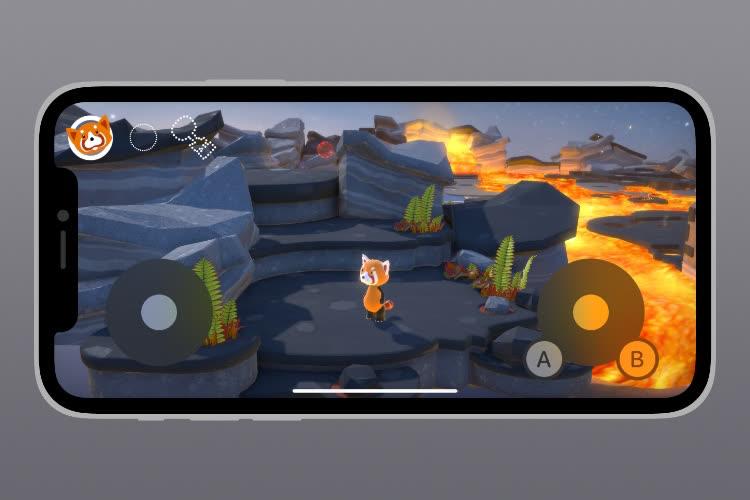 Aperçu des nouveautés jeux d'iOS 15 : support amélioré des manettes, contrôles tactiles…
