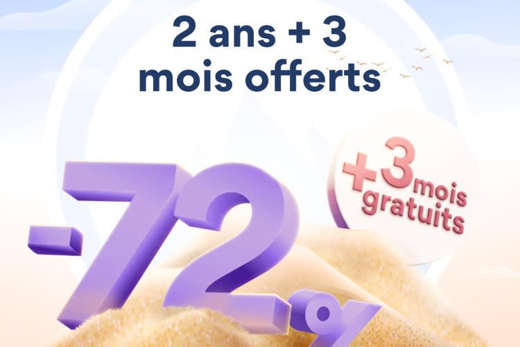 Offre d'été NordVPN ☀️: 3 mois supplémentaires offerts + 72% de réduction ! 📍