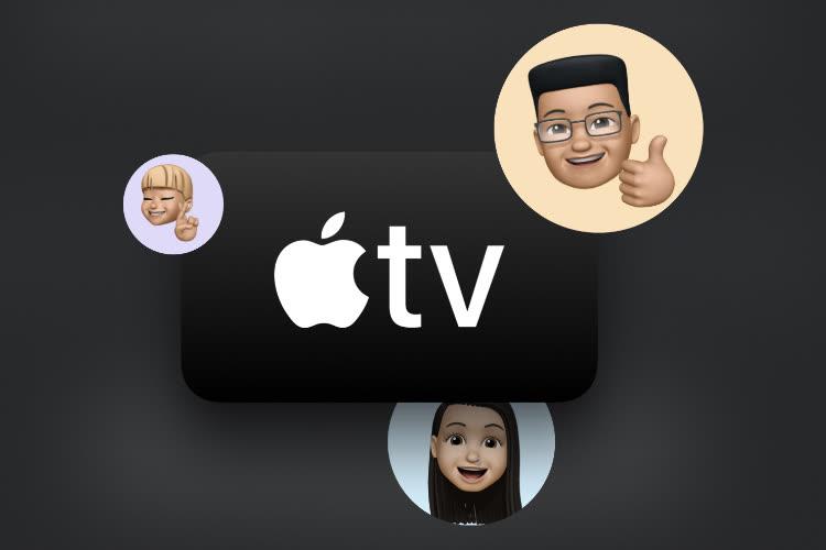 Aperçu de tvOS 15 : HomePod mini en sortie audio, Partagé avec vous, audio spatial…