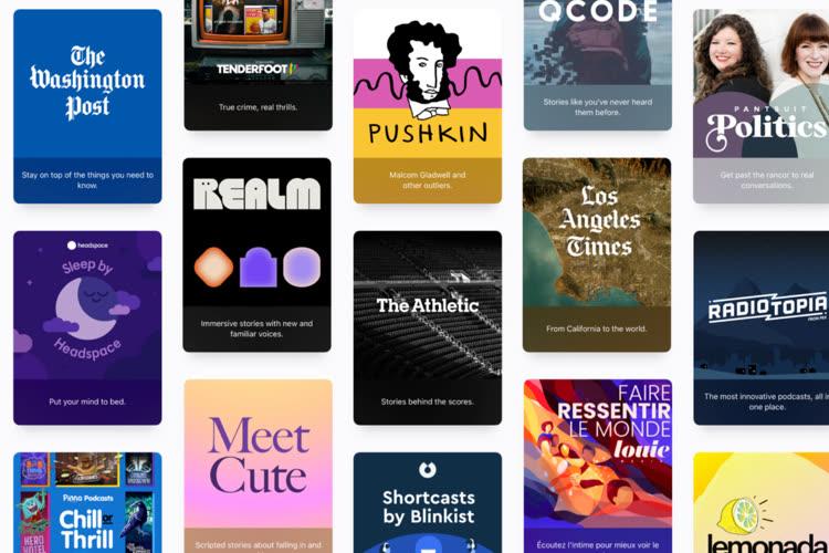 Les podcasts sur abonnement maintenant disponibles sur Apple Podcasts
