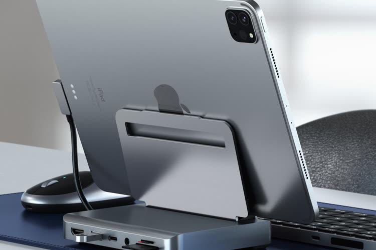 Satechi lance un nouveau dock pour iPadPro qui sert aussi de support