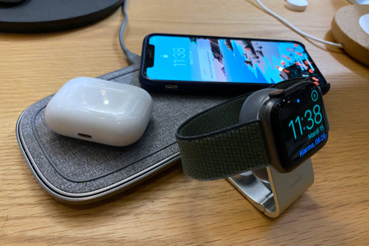 Prise en main de la station de charge Sette Q et du Flekto pour Apple Watch de Moshi