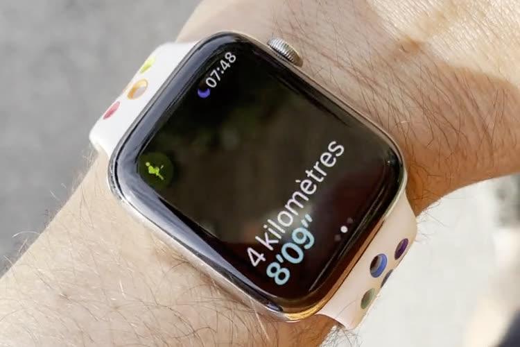 Suivi sportif : avec watchOS 8, l'AppleWatch annonce de vive voix le temps réalisé à chaque kilomètre