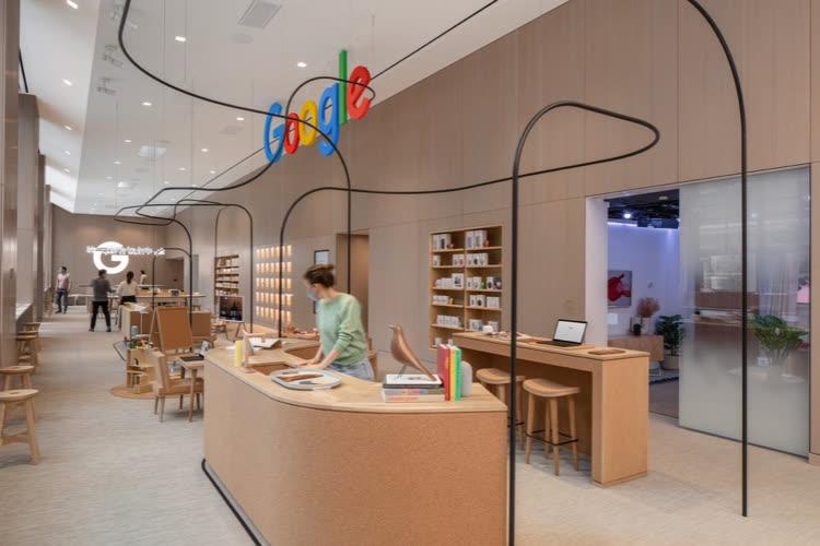 Le premier Google Store ouvre ses portes