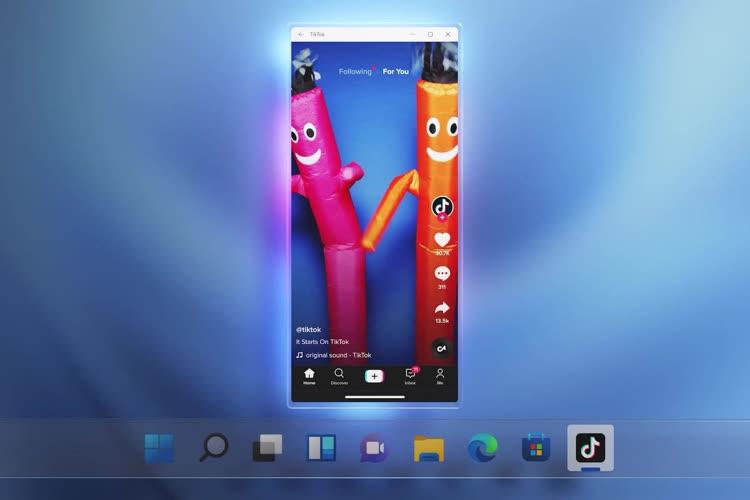 Les apps Android tourneront de manière «fluide et transparente» sur Windows 11, promet Microsoft