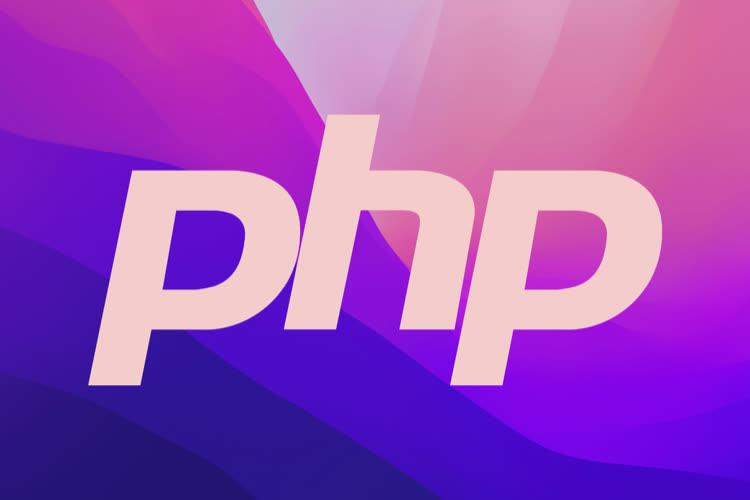 Comme prévu, macOS Monterey n'intègre plus PHP par défaut
