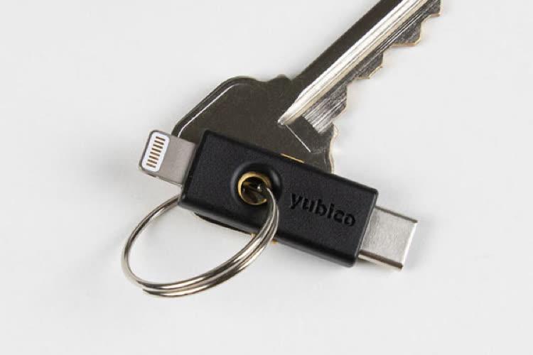 Test de la Yubikey5ci, une clé de sécurité pour Mac et iPhone