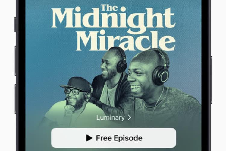Apple lancera les Abonnements Podcasts le 15 juin