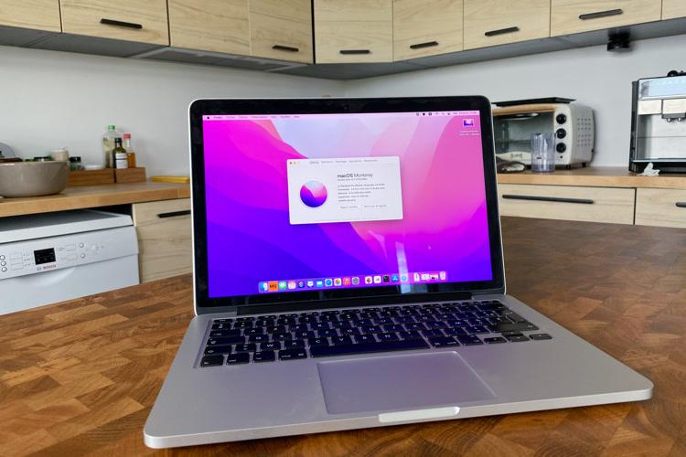 J'ai installé macOS Monterey sur mon MacBookPro de 2014 abandonné par Apple