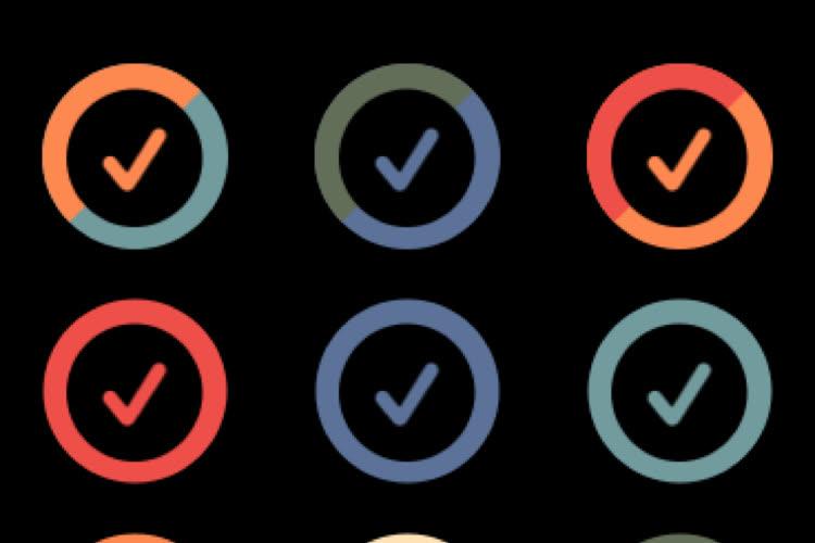 watchOS8 : personnalisez le sélecteur de couleur des cadrans