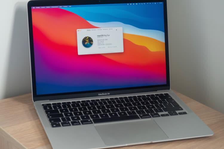Promo: le MacBookAir M1 à 1029€, le MacBookPro à 1304€ (-10%)