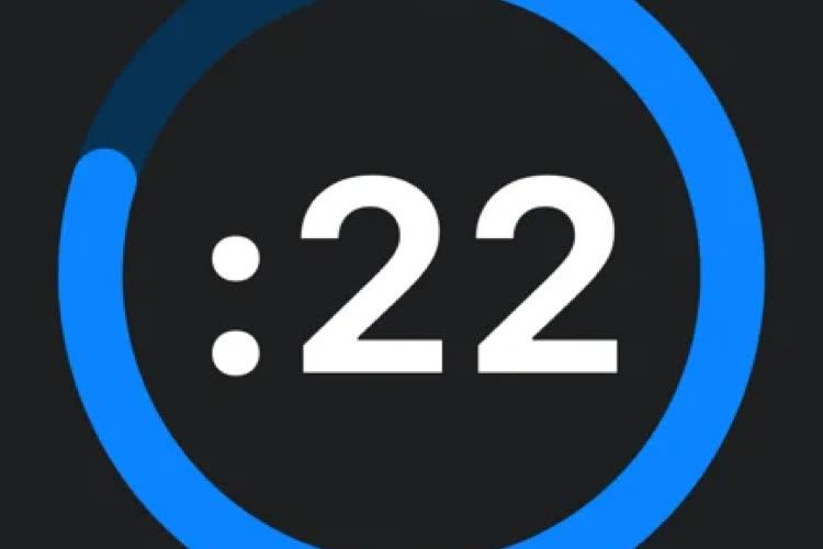 Intervals Pro : un minuteur d'intervalles complet pour l'AppleWatch