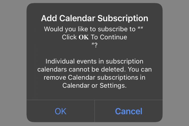 Le spam du calendrier iCloud reprend du poil de la bête