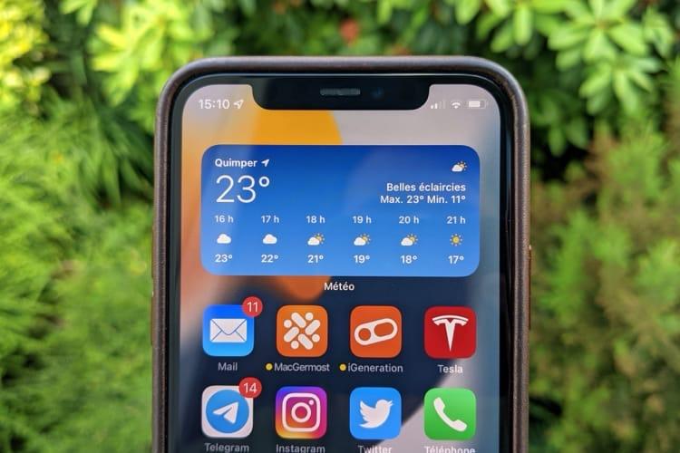 iOS15: aperçu de la toute nouvelle app Météo