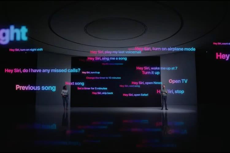 iOS 15 : Siri va développer sa fibre locale